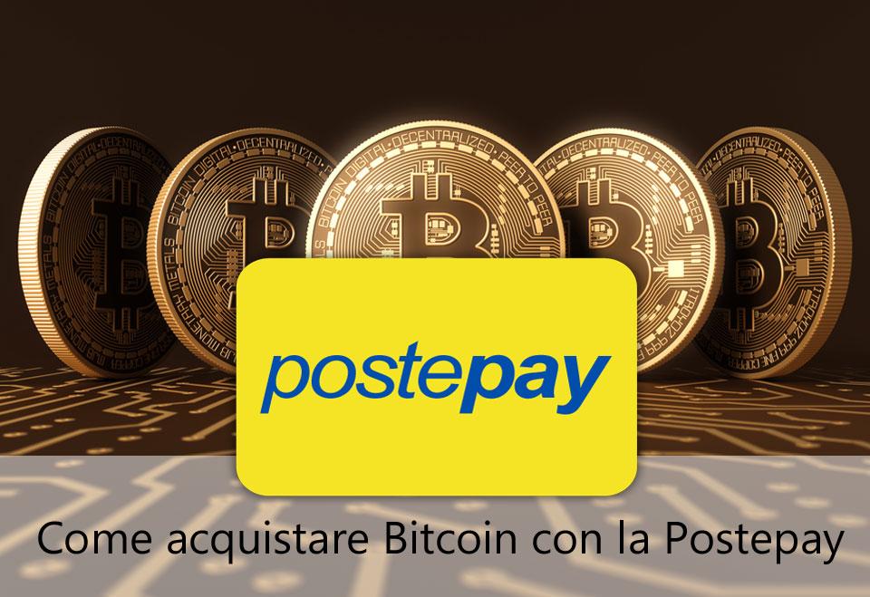 Come acquistare bitcoin con la postepay